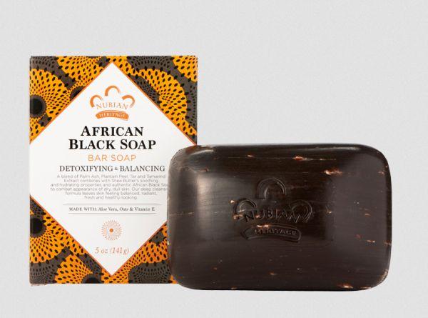 Afrikanische schwarze Seife